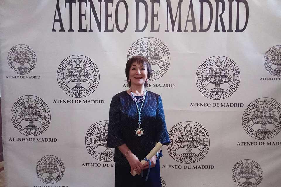 Amalia Fid Ateneo Madrid
